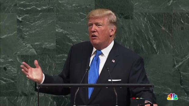 [NATL] 'Rocket Man': Trump Slams North Korea in First Address to UN