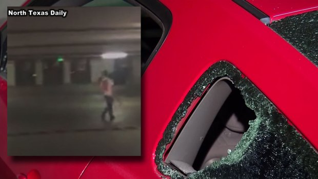 Axe-Wielding Man Shot Near UNT