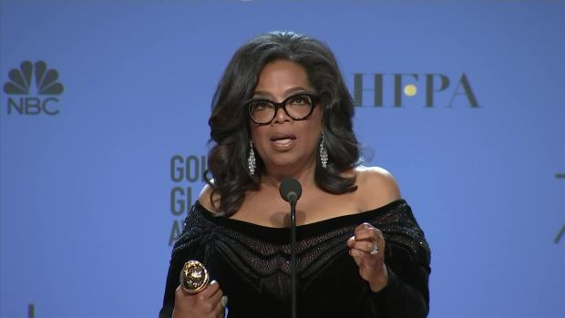 [NATL] Oprah Winfrey: 'Time's Up' Is for 'Women of the World'