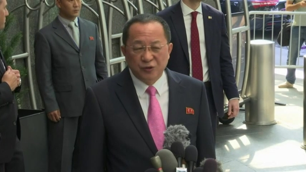 North Korean Foreign Minister'The United States Declared War