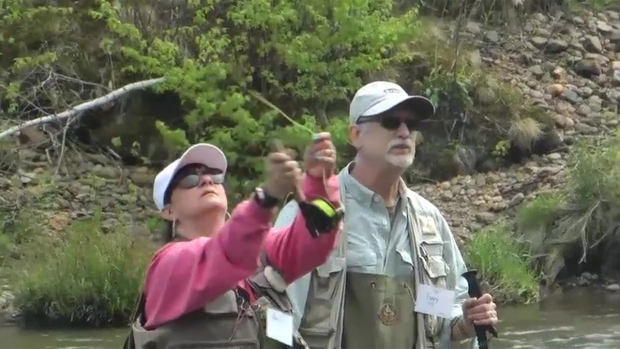 [NATL] Breast Cancer Survivors Find Comfort in Fly Fishing
