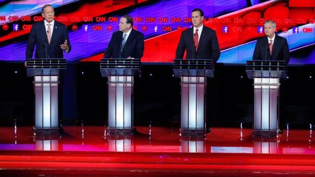 [NATL] GOP Undercard Candidates Sound Off on Trumps' Muslim Ban