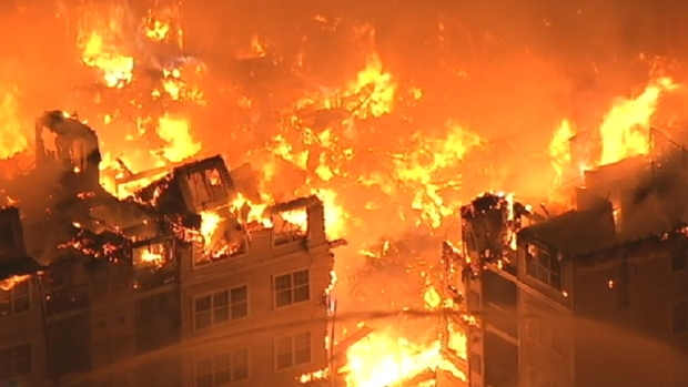 Chopper 4 Captures Hours of Fire in Under 4 Minutes