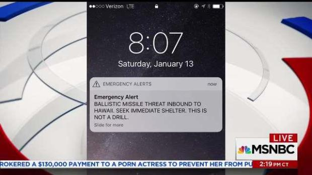 NBC10 Anchor Told Children to Find Will, Insurance After False Missile Threat