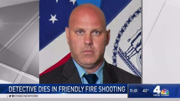 [NY] Veteran NYPD Detective Dies in Friendly Fire Shooting