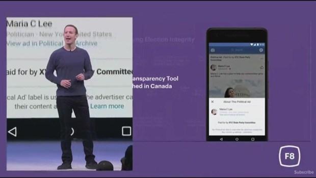 [NATL-BAY] RAW: Zuckerberg Says Political Ads Will Be Transparent