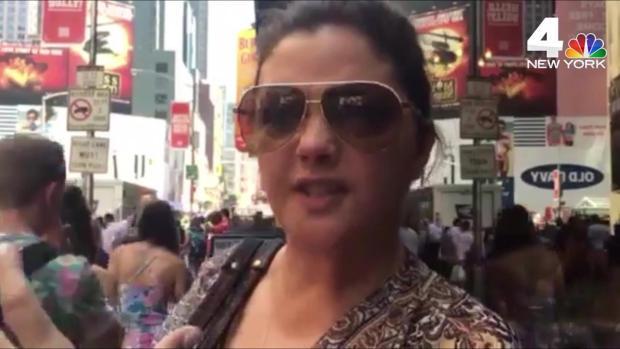 'Everyone Just Starts Running': Times Square Panic