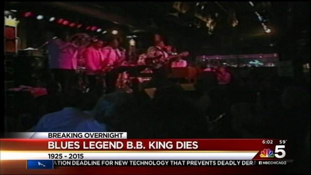 B.B. King Dies at Age 89