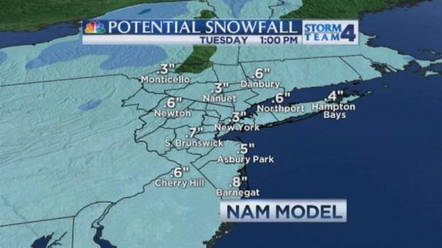 [NY] Late Evening Forecast for Monday, November 11