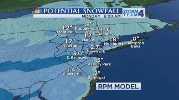 [NY] Noon Forecast for Sunday, December 8