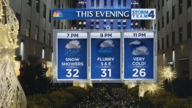 [NY] Noon Forecast for Tuesday, December 24