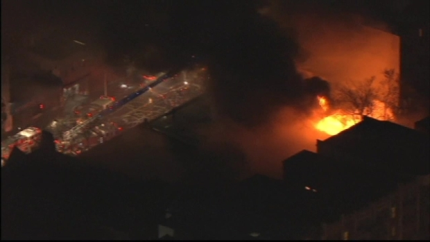 [NY] Firefighters Battle 4-Alarm Fire in Yonkers