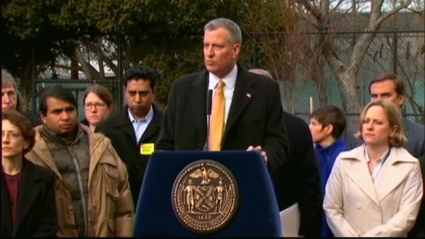 [NY] Mayor De Blasio Announces Plan to Cut Pedestrian Death Toll