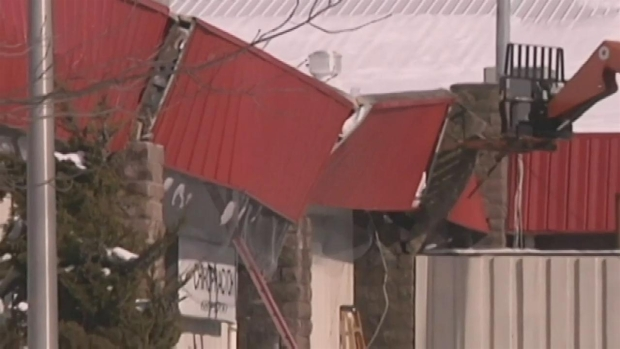 Long Island Roofs Collapse Under Snow