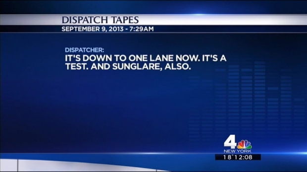 [NY] Fort Lee 911 Tapes Reveal Police Dealing with New Traffic Patterns