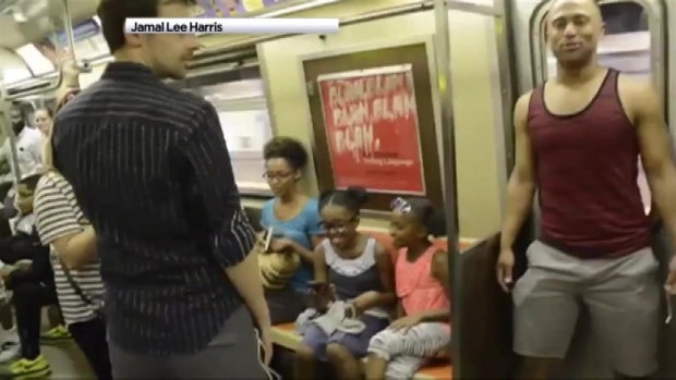 "[NY] ""Lion King"" Cast Surprises Subway Riders"