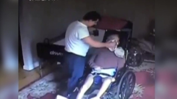 Home Health Care Aide Caught on Tape Abusing Stroke Victim
