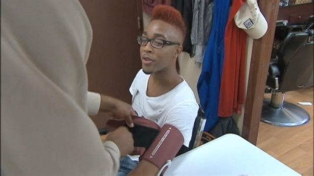 [NY] Harlem Barbershop Serves Up Preventative Medical Care