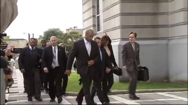 "[NY] Raw Video: ""Real Housewives"" Arrive at Court for Sentencing in Fraud Case"