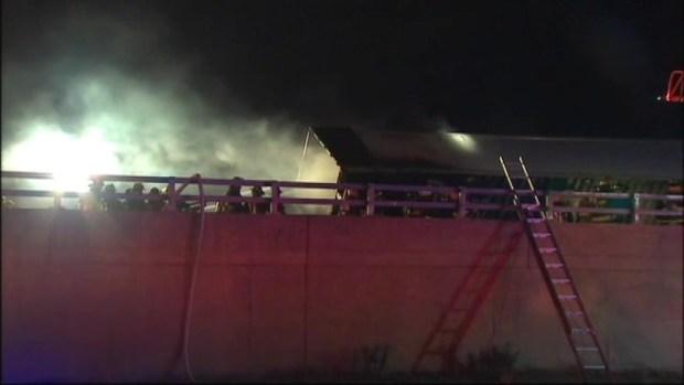 [NY] Truck Flips Onto Car on NJ Road, Bursts Into Flames
