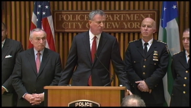 [NY] Mayor: Fallen Officers' Families in Tremendous Pain
