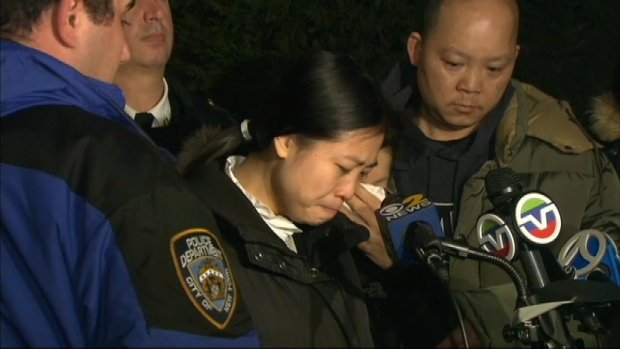 [NY] Slain NYPD Officer Liu's Family Issues Emotional Statement