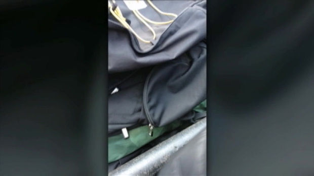 Backpacks Confiscated at Times Square on New Year's Eve