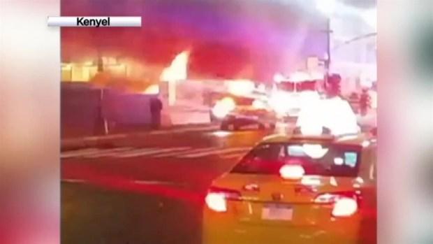 Penn Station Blaze: FDNY