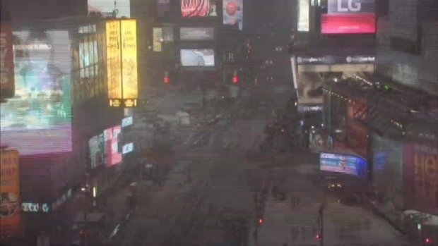 WATCH: Time-lapse of Snowstorm in Times Square