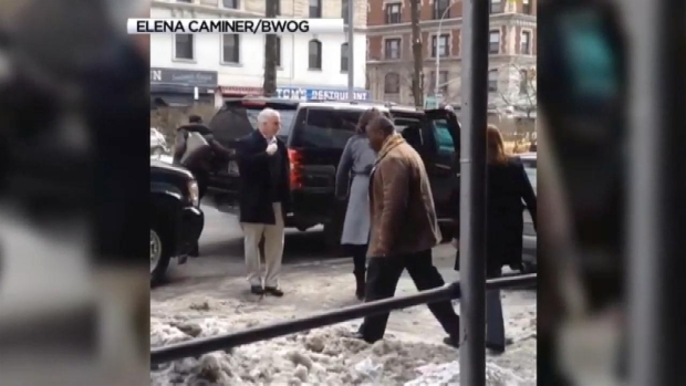[NY] Malia, Michelle Obama at Columbia