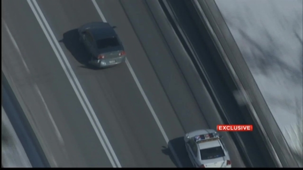 [NY] Chopper 4 Captures Dramatic Police Chase Across Verrazano