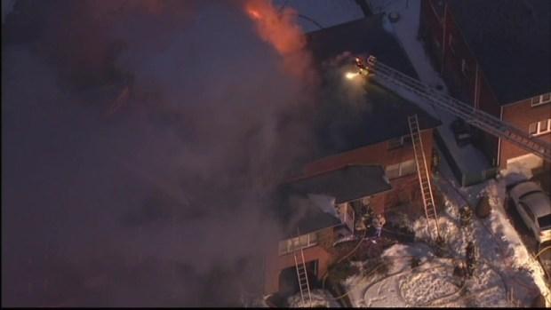 Blaze Breaks Out In Palisades Park Duplex Nbc New York