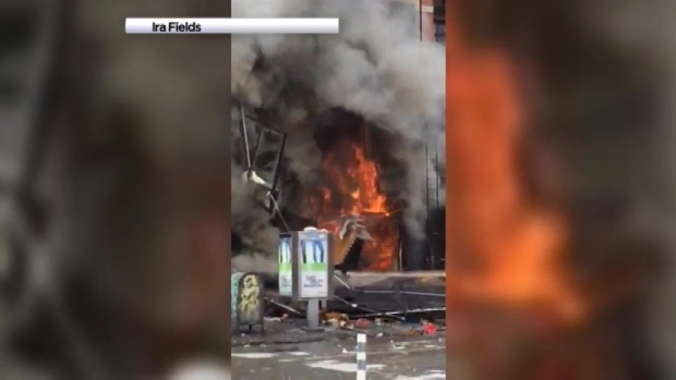[NY] Witness Videos: East Village Building Explosion