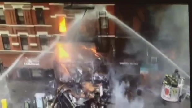 [NY] East Village Building Collapse Captured on FDNY Video