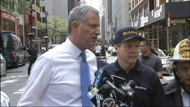 "[NY] De Blasio: ""Thank God... Not Too Many People Around"""