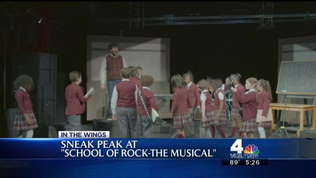 "[NY] Sneak Peek: ""School of Rock: The Musical"""