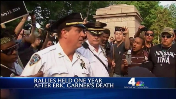 [NY] 1 Arrest as Protests Mark Year Since Eric Garner's Death