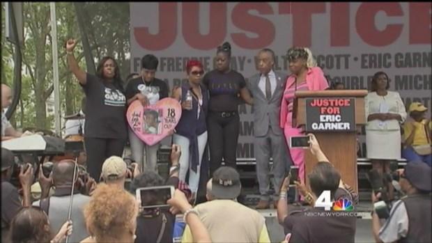 [NY] Hundreds Rally to Mark Anniversary of Garner Death