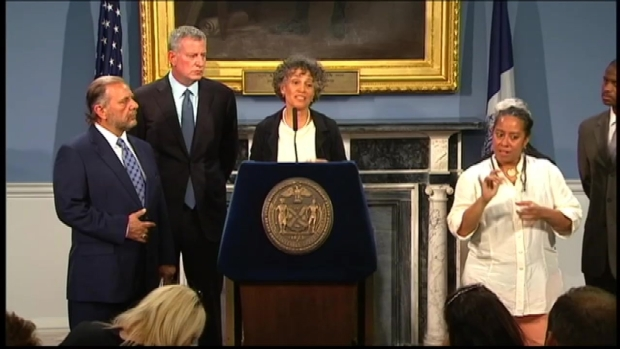 Health Commissioner, Mayor de Blasio Address Concerns About Legionnaires' Outbreak in the Bronx