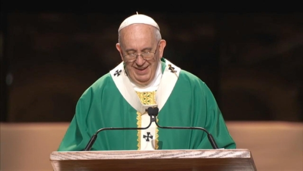 [NY] Watch: Pope Francis' Full Homily at MSG
