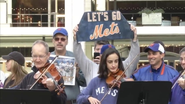 [NY] Mr. Met Conducts Orchestra in Resounding 'Meet the Mets'