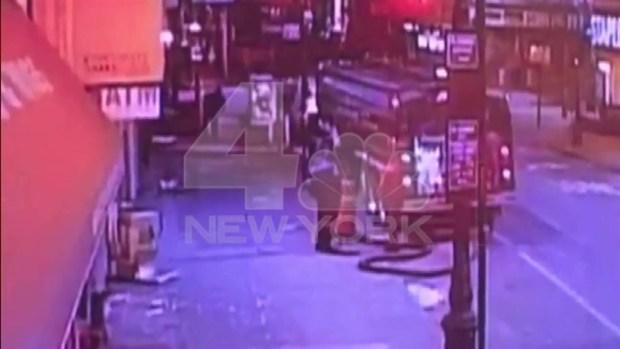 Exclusive Surveillance Video: Fatal Shooting Near Penn Station