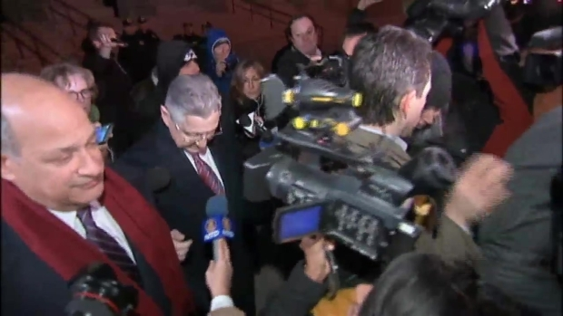 [NY] Sheldon Silver Leaves Courthouse After Verdict