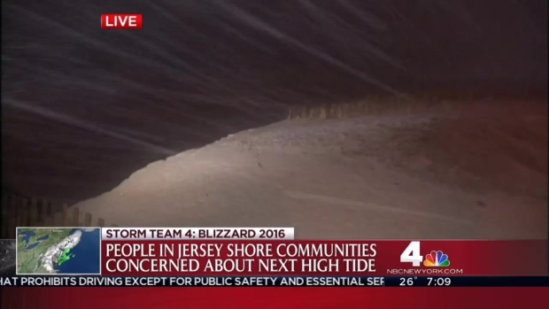 Coastal Flooding Threatens The Jersey Shore