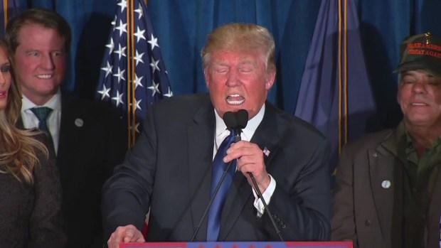 [NATL] Trump Wins New Hampshire Primary