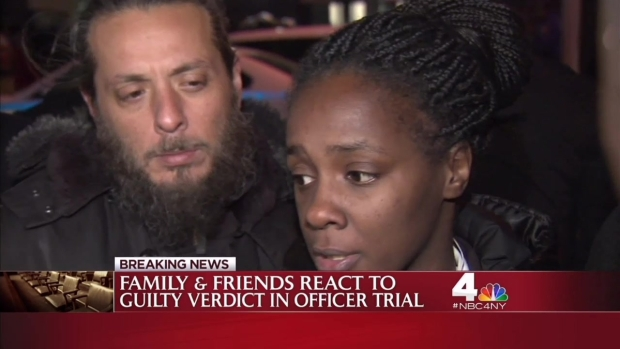 [NY] Akai Gurley's Family Reacts to NYPD Cop Guilty Verdict