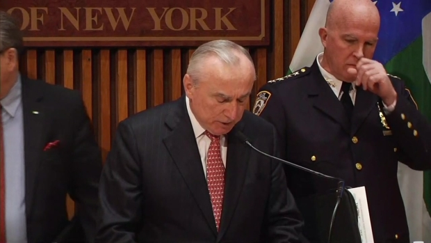 [NY] Mayor, Police Commissioner Talk NYC Security Measures After Brussels Terror Attack