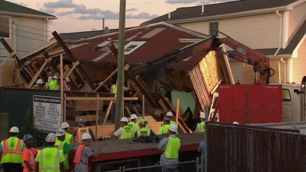 [NY] Sandy-Damaged Brooklyn House Undergoing Construction Collapses: NYPD