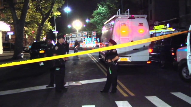 [NY] Manhunt for Men Who Shot at NYPD Officers From Car in Brooklyn
