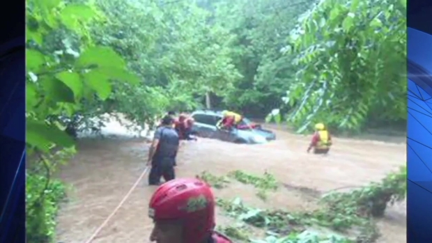 [NY] Flash Floods Hit East Coast as Storms Move Through